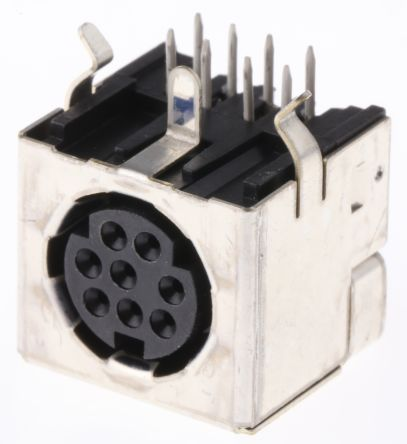 1658998 1 te connectivity 8 pole right angle miniature din socket 1658998 1 te connectivity 8 pole right angle miniature din socket socket 1a 30 v ac te connectivity publicscrutiny Image collections
