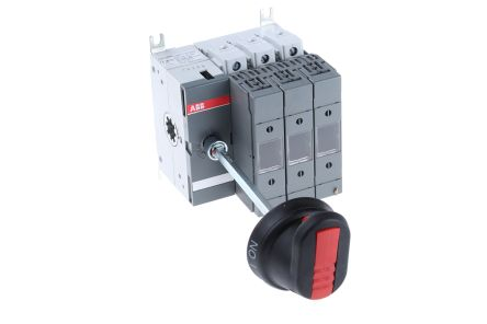 63 A 3P Fused Isolator Switch, A2, A3 Fuse Size