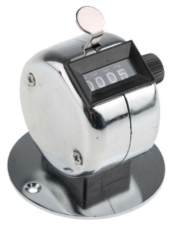 4 digit desk mounted tally counter