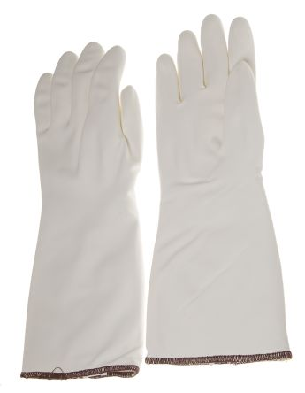 RS Pro White Heat Resistant Nitrile Reusable Gloves 11 - XL