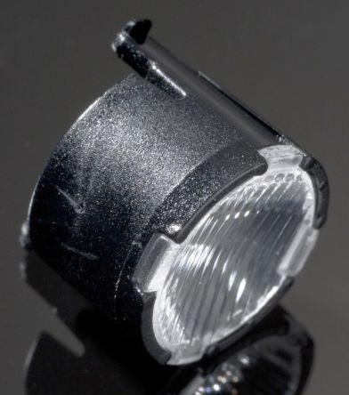 LEDiL FP11120_LISA2-O-CLIP, Lisa2 Series LED Lens, 48 + 19 ° Oval Beam