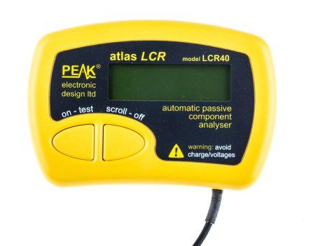 Peak Electronic Design, Model LCR40 Meter 10000μF, 2 MΩ, 10h Handheld Type