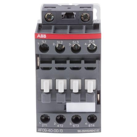 1sbl137201r1300 abb af range af09 4 pole contactor, 4no, 25 a, 4Abb Af09 Contactor Wiring Diagram #21