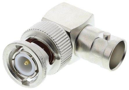 Right Angle 50O RF Adapter BNC Plug to BNC Socket 0 -> 4GHz product photo