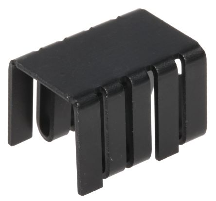 Heatsink, Dual TO-220, TO-262, 27.3°C/W, 12.7 x 14.48 x 19.05mm, Clip