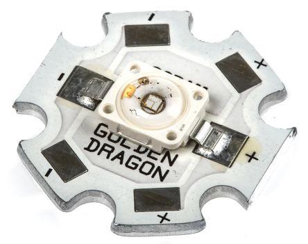 ILS ILH-GD01-DEBL-SC201., Dragon1 PowerStar Circular LED Array, 1 Blue LED