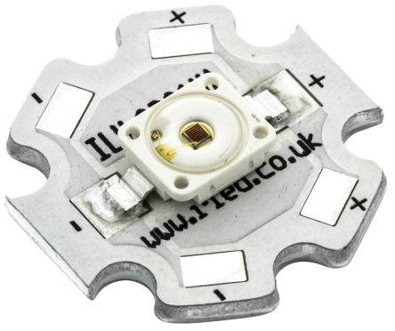 ILS ILH-GD01-RDOR-SC201., Dragon1 PowerStar Circular LED Array, 1 Red-Orange LED