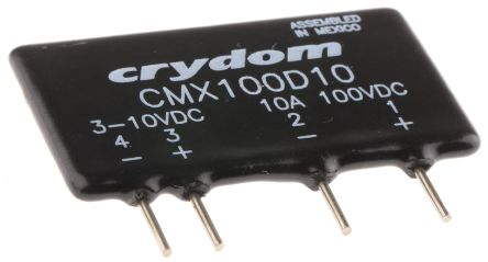 Sensata Crydom 10 A rms SPNO Solid State Relay PCB Mount MOSFET