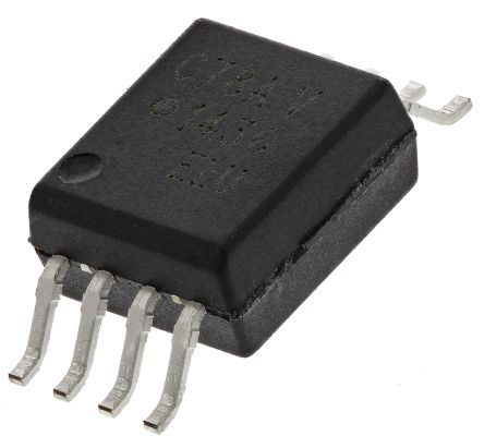 ACPL-C78A-060E Broadcom, 2-Channel Isolation Amplifier, 4.5 → 5.5 V, 8-Pin SSOP