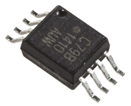 ACPL-C79B-000E Broadcom, 2-Channel Isolation Amplifier, 4.5 → 5.5 V, 8-Pin SSOP