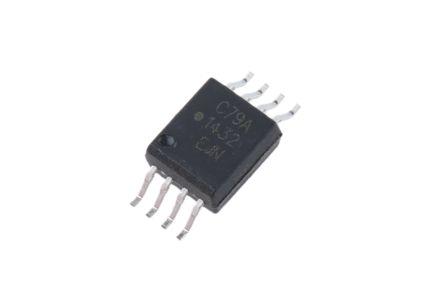ACPL-C79A-000E Broadcom, 2-Channel Isolation Amplifier, 4.5 → 5.5 V, 8-Pin SSOP