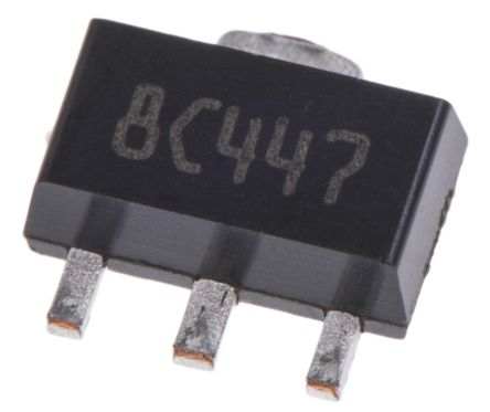 STMicroelectronics, 5 V Linear Voltage Regulator, 100mA, 1-Channel, ±5% 3-Pin, SOT-89 L78L05ACUTR