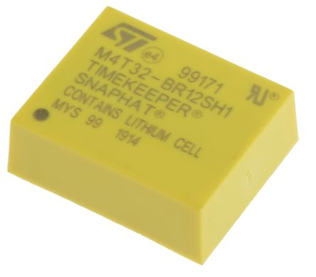 STMicroelectronics M4T32-BR12SH1, Battery Charger IC 4-Pin, SNAPHAT