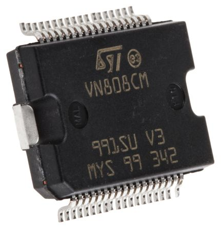 STMicroelectronics VN808CM-E, Power Switch Octal-Channel 700mA 45 V max. 36-Pin, PowerSO