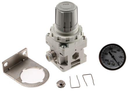 SMC Metric M8 240L/min 0.6L/min Vacuum Regulator Rc, +5 → +60°C