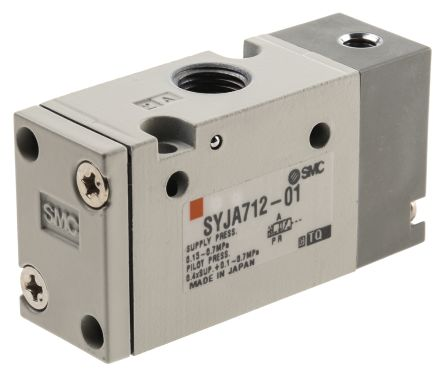 3/2 Pneumatic Control Valve Pilot/Spring Rc 1/8 SYJA700 Series product photo