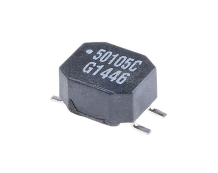 Murata, 5000 Wire-wound SMD Inductor 1 mH -30 → +50% Wire-Wound 700mA Idc