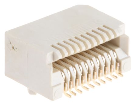 TE Connectivity 20 Way Female SFP+ Connector