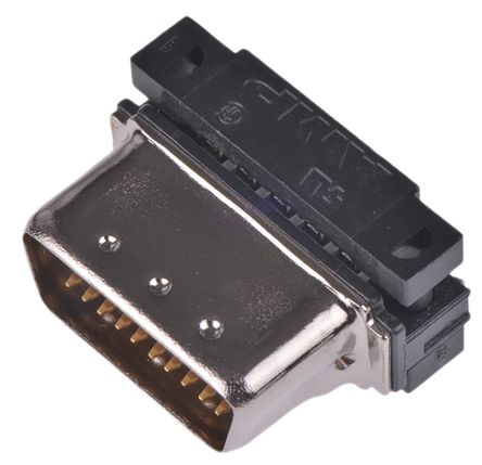 Male 20 Pin Straight Cable Mount SCSI Connector 1.27mm Pitch, IDC product photo