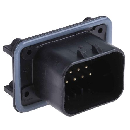 TE Connectivity, AMPSEAL Automotive Connector Socket 3 Row 14 Way, Solder Termination