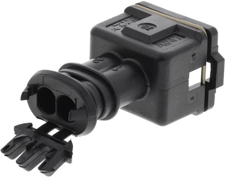 TE Connectivity, Junior Power Timer 1 Row 2 Way Cable Mount Socket Housing