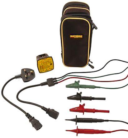 Martindale RSEZ650 Socket Tester 13A 230V ac CAT II 300 V, Model EZ650
