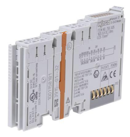 Wago I/O SYSTEM 750 PLC I/O Module 16 (Channel) Inputs, 24 V dc, 67 x 12 x  100 mm