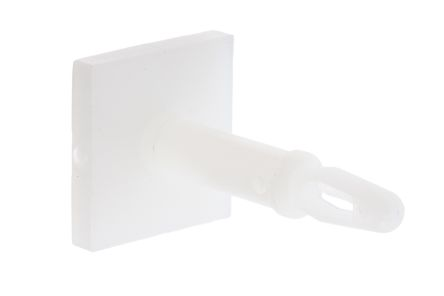 LCBSBM-10-01A2-RT, 15.9mm High Nylon PCB Support for 3.18mm PCB Hole, 12.7 x 12.7mm Base product photo