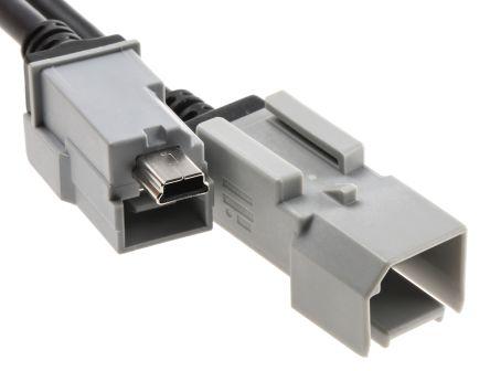 USB 2.0 Male Mini USB B Female Mini USB B USB Extension Cable, 0.5m product photo