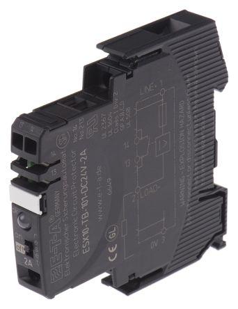 ESX10-TB101-DC24V 2A   ETA Serie ESX10-T Thermischer magnetischer ...