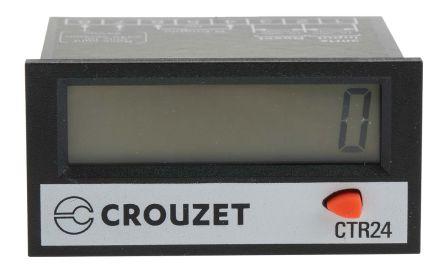 Crouzet 8 Digit, LCD, Digital Counter, 260 V ac/dc