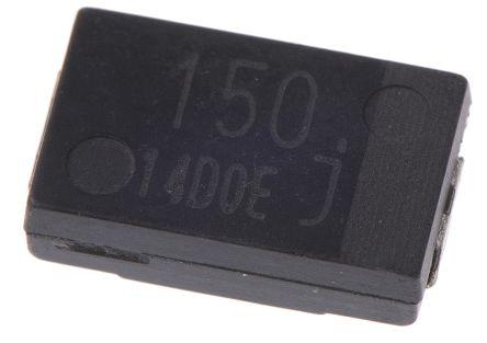 Panasonic 150μF 6.3V dc Aluminium Polymer Capacitor, Surface Mount 7.3 x 4.3 x 1.9mm +105°C 7.3mm