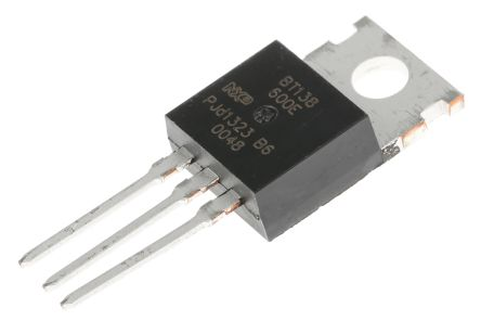 BT136S-600 WeEn Semiconductors Co Ltd TRIAC 600V 4A Gate Trigger 1.5V