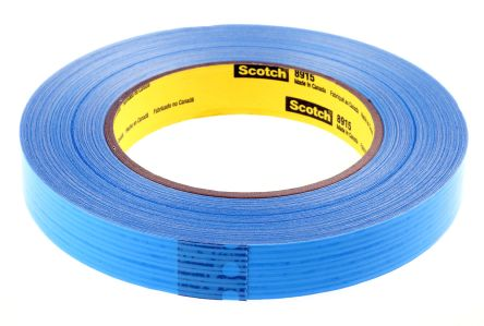 Blue Transparent Packing Tape 55m x 18mm 8915 product photo