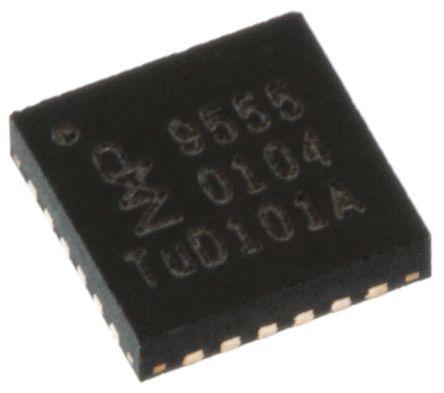 NXP PCA9555BS,118, 16-Channel I/O Expander 400kHz, I2C, SMBus, 24-Pin HVQFN