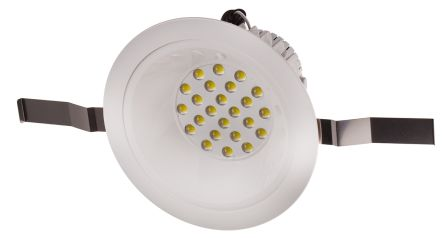 Dimmable LED downlighter 150mm 6500K 60d
