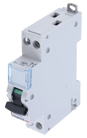 1 6 A MCCB Molded Case Circuit Breaker, Breaking Capacity 4.5 kA, DIN Rail Mount DNX³ product photo