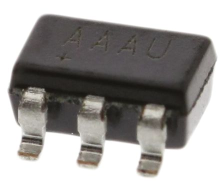 Maxim MAX6817EUT+T, Bounce Eliminator Circuit, 2-Channel, 2.7 V to 5.5 V, 6-Pin SOT-23