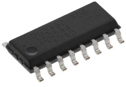 Maxim DS2482S-800+, I2C Translator, 16-Pin SOIC