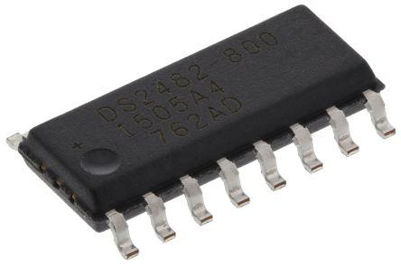 Maxim DS2482S-800+, I2C Translator, 16-Pin SOIC