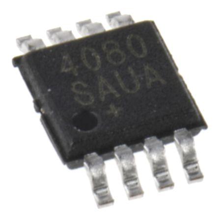 Analog Devices AD8418ABRMZ-RL Current Sense Amplifier Single Buffered 8-Pin