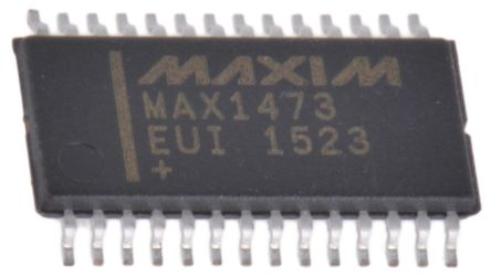 Maxim Integrated MAX1473EUI+ RF Receiver, 28-Pin TSSOP