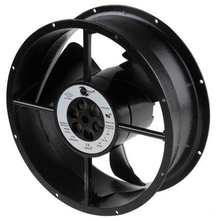 AC Axial Fan, 254 x 88.9mm, 935m³/h, 60W, 230 V ac (Caravel Series)