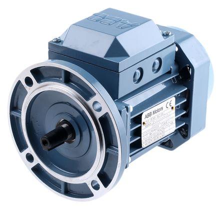 ABB 3GAA Reversible Induction AC Motor, 0.25 kW, IE2, 3 Phase, 2 Pole, 415 V ac, Flange Mount Mounting