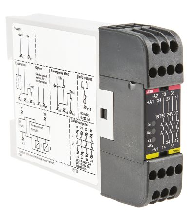 BT50 Output Module, 4 Outputs, 24 V dc product photo