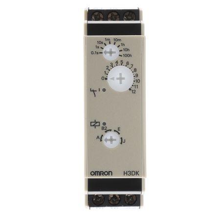 Omron Multi Function Timer Relay Screw 01 s 1200 h SPDT SPDT