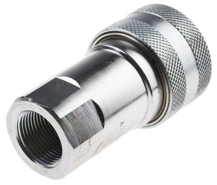 Steel Female Hydraulic Quick Connect Coupling 3/4 in product photo