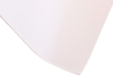 White Silicone Rubber Sheet, 1m x 600mm x 1.5mm