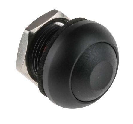 5 x Black On Off Miniature Momentary Push to Break Switch SPST