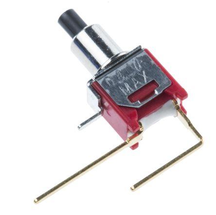 RS Pro Leiterplatten Drucktaster, Einpoliger Ein/Aus-Schalter (SPST ...